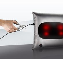 沙发抱枕式电池供电无线使用的颈椎专用理疗按摩器热敷护颈按摩枕S3