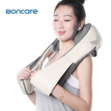 U型无线使用的红外加热披肩式腰部肩部电动智能按摩枕 S2